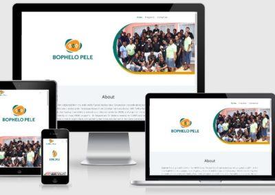 Bophelo pele web design by web chameleon