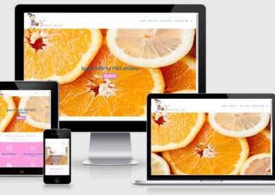 Yfresh web design by web chameleon